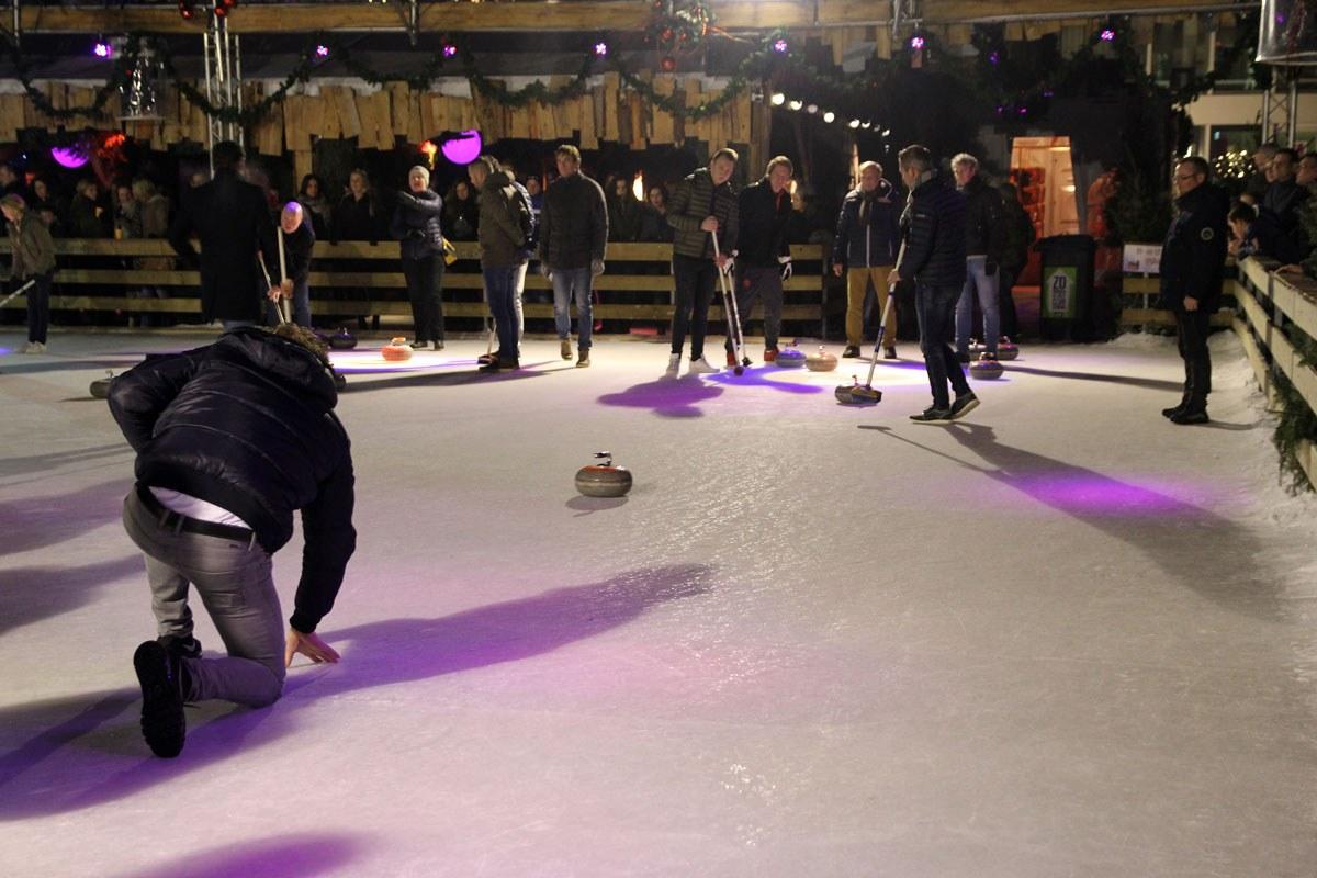 Recordaantal teams voor amateur Curlingcompetitie Venlo on Ice