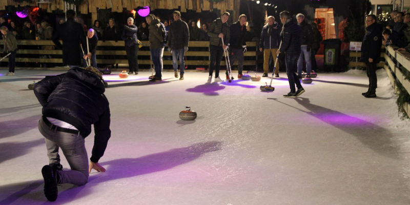 Recordaantal teams voor amateur Curlingcompetitie Venlo on Ice