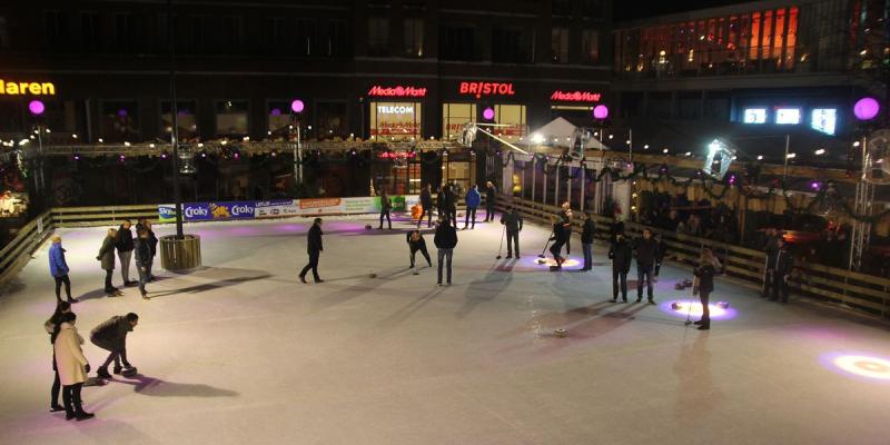 Uitslagen 3e ronde curling competitie