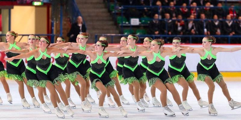 Vrijdag 28 december: schaatsdansen door Ice United