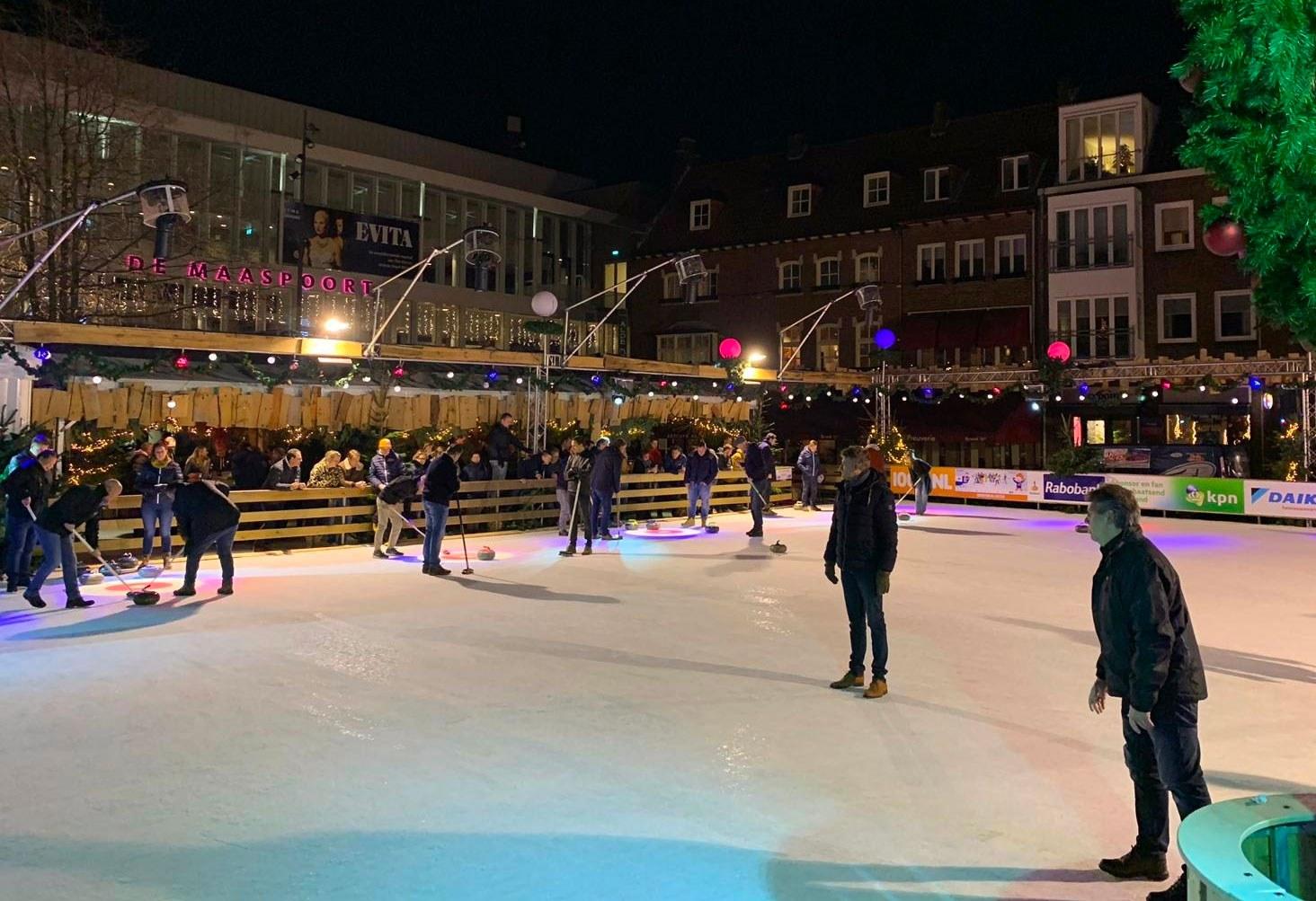Uitslagen 2e ronde curlingcompetitie